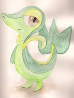 Snivy by ShonaMaryDesigns