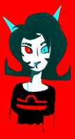 Old Terezi Drawing by dogofheartdeviantart