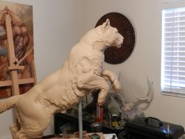 Right side 1/2 scale Cougar by JordanAbernethy