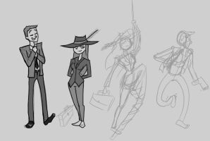Secret Agents Concept by UpcoRaul