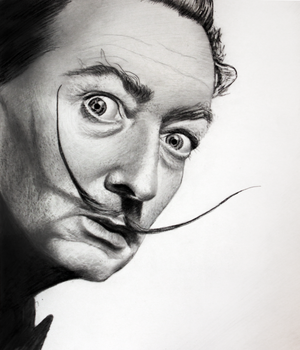 Salvador Dali by HoneyOats