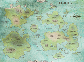 SN: World Map by Alina-chan