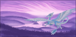 Lavender Dawn by CaliberArts