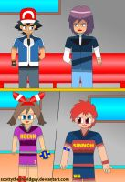 Ash and Paul goes Showed of Volleyball by scottytheshieldguy