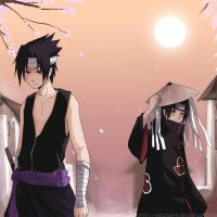 AT: Sasuke and Itachi by Mikutashi