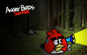 Angry Birds Slender by AngryBirdsStuff