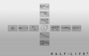 HL2 Weapon Selection White by Zeptozephyr