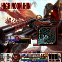 High Noon Jhin HUD| League of Legends by arrianee