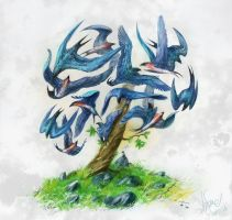 Bird's Tree by Igriel
