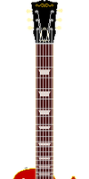 Les Paul Style Guitar (Sunburst) by AloneAgainstPixels