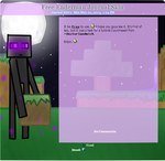 Another Free Enderman Journal Skin by TVZRandomness