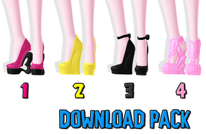 DOWNLOAD: Shoe Pack 1 by SkinnyMandria