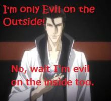 I'm not evil. Wait yes I am by Lordviral