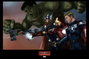 Avengers Assembled by epletz
