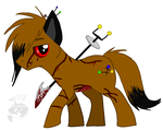 Dead little ponyyy by MetallicUmbrage