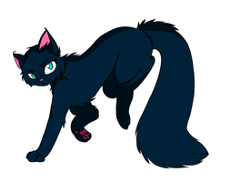 some cat thing i made while i was bored. by lordkalem