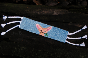 Friendship Bracelet 'Lucky Fennec Fox' by releaserevolverenew