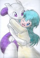 .:Baby Mewtwo And Ambertwo:. by Mewfanatic
