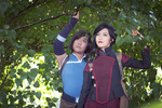 Adventures in Spiritworld  [Legend of Korra] by ChikaraSan