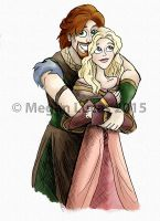 Happy Loki and Sigyn by MademoiselleMeg