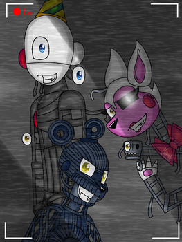 No Suits (FNAF Sister Location and FNAF 2) by MaisarahMazlun