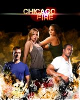 Chicago Fire Poster by CertainlyLostFameGal