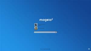 Mageia 2 Web KDM by iamoverrated