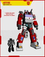 AUTOBOT ARTFIRE by F-for-feasant-design