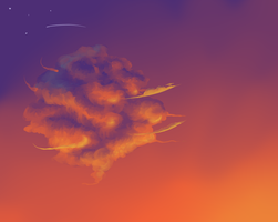 sunset Cloud by Polarhase
