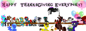Happy Thanksgiving by AcrylicBrony