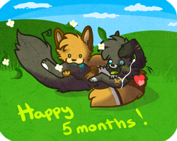 Happy 5 months my sir by Madeleneerpen