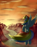 Racing the Sun by Grennadder