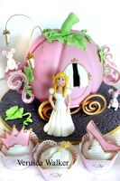 Princess Pumpkin Cake by Verusca