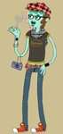 Hipster Rico by AskSpumoni