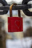 12-12 red lock  By Evionn by evionn