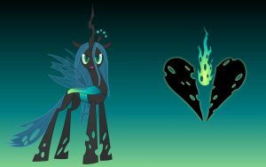 MLP - Chrysalis Wallpaper by FunkyBacon