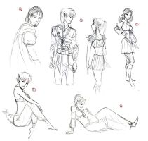 DAO: More Birthday sketches by SoniaCarreras