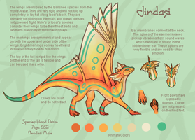 Reference - Jindasi by BeeZee-Art