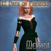 12 Days of Princess - Merrida by mylochka