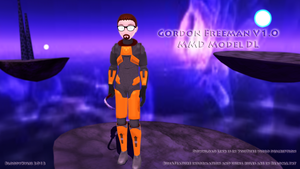 Gordon Freeman V 1.0 (DL! INCLUDING XEN STAGE!) by BloodyKylie