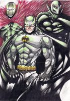 Batman,Spawn and Black Panther by SonicShooter
