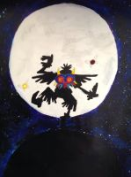 Skull Kid Silhouette by StrangerInLondon