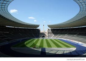 Inside the Olympia stadion by ciscotjuh