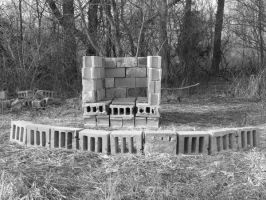 the fire pit from hell by Richardbargowski