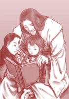 a little family portrait by Joan-Kagami