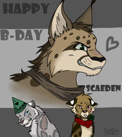 EBC: Scaeden's B-day by 2wolfan