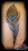 Peacock Feather by state-of-art-tattoo