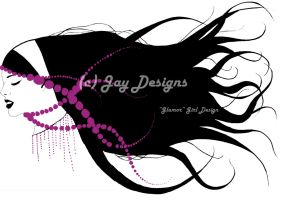 """""""Glamour"""" Girl Design FIN by PhishPhace"""