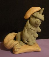 MLP - Beatnik Rarity WIP Sculpt by Miki-