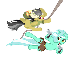 Lyra Croft (no BG) by bipole